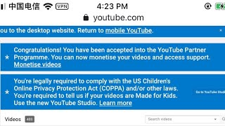I've been Monetize December 1 But I Just find it Just now kaloka!