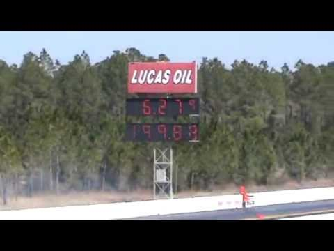 2014 Gatornationals-Pro Modified: Billy Glidden goes 6.27 @ 199mph