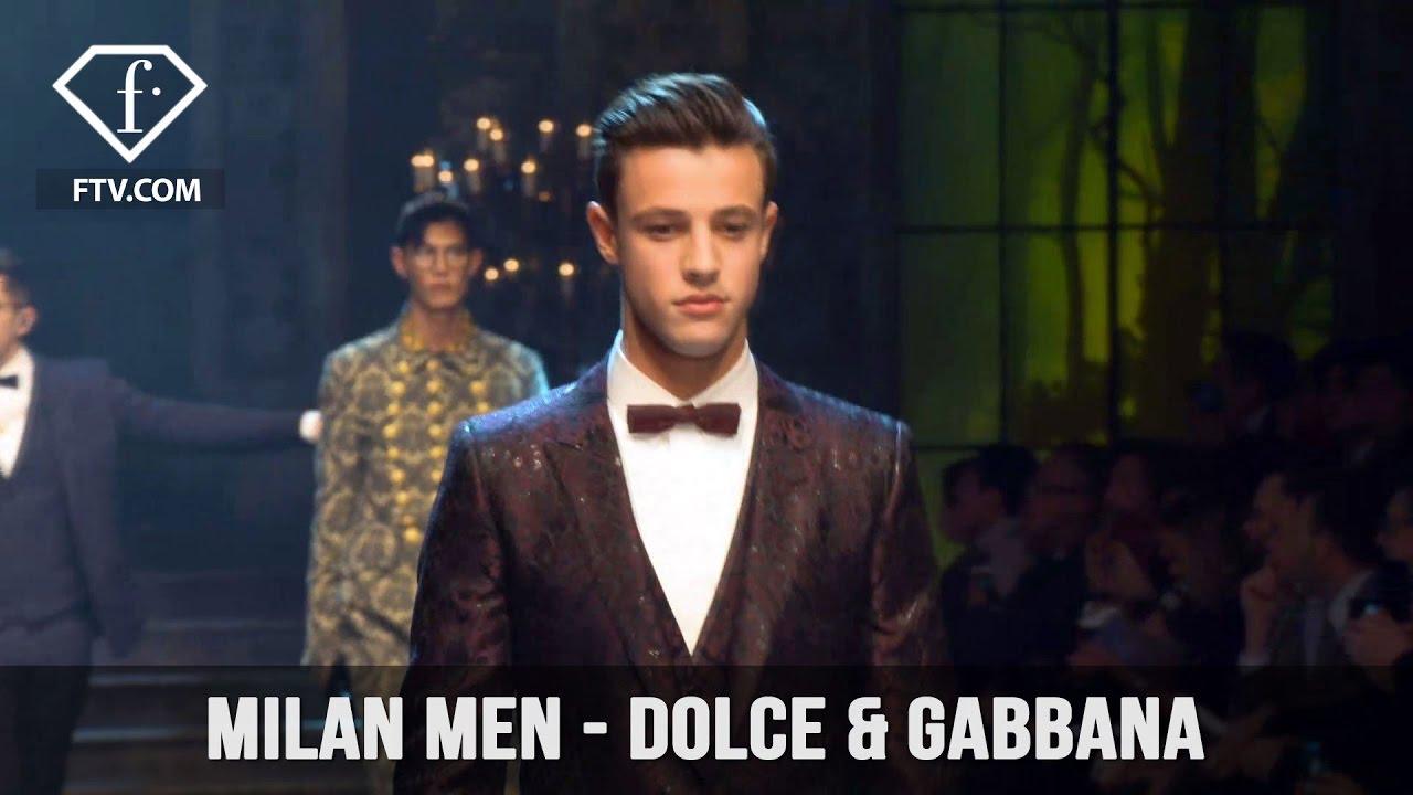 Milan Men Fashion Week Fall/Winter 2017-18 - Dolce & Gabbana   FashionTV