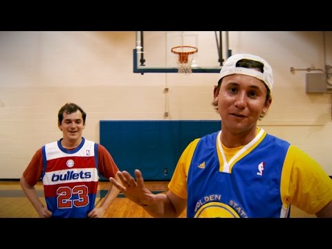 Hoopin' it with Smylie Kaufman