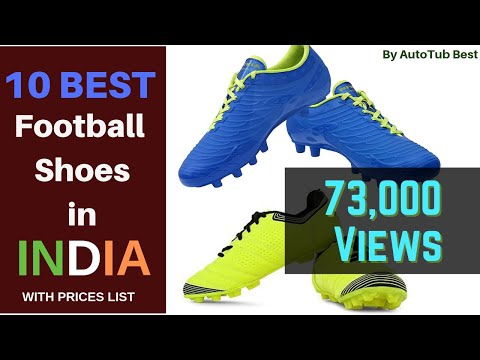 Top 10 Best Selling Football Shoes To Buy In India