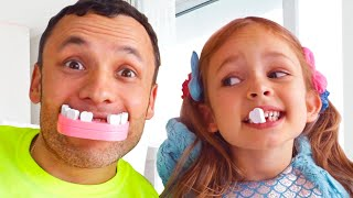 أفضل سلسلة قصص تربوية وأخلاقية للأطفال   مايا وماري - أغنية الأطفال - جنية الاسنان   Kids Song