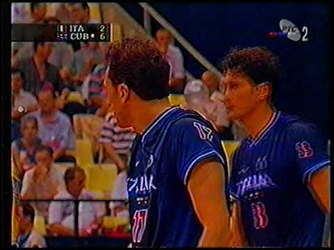 1997 Men's Volleyball World League Italy - Cuba part 1