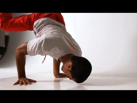 How To Do A Turtle Freeze To Headstand | Break Dancing
