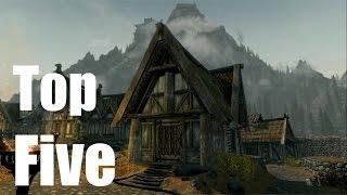Top Five Homes of Skyrim