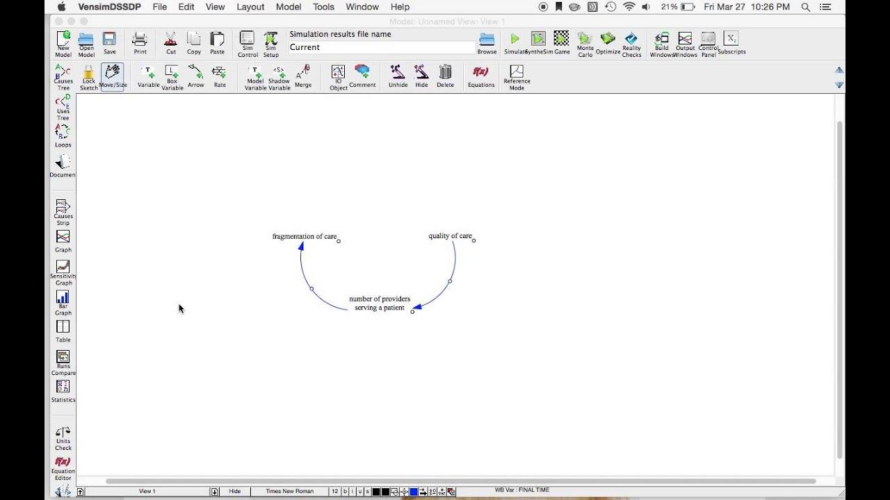 Vensim tutorial for causal loop diagramming youtube vensim tutorial for causal loop diagramming ccuart Choice Image
