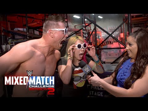 How is Team Awe-ska feeling after remaining undefeated in WWE MMC?