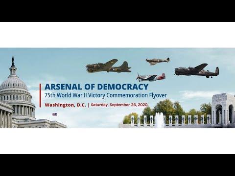 2020 Arsenal Of Democracy Flyover - Live (Saturday 9/26)