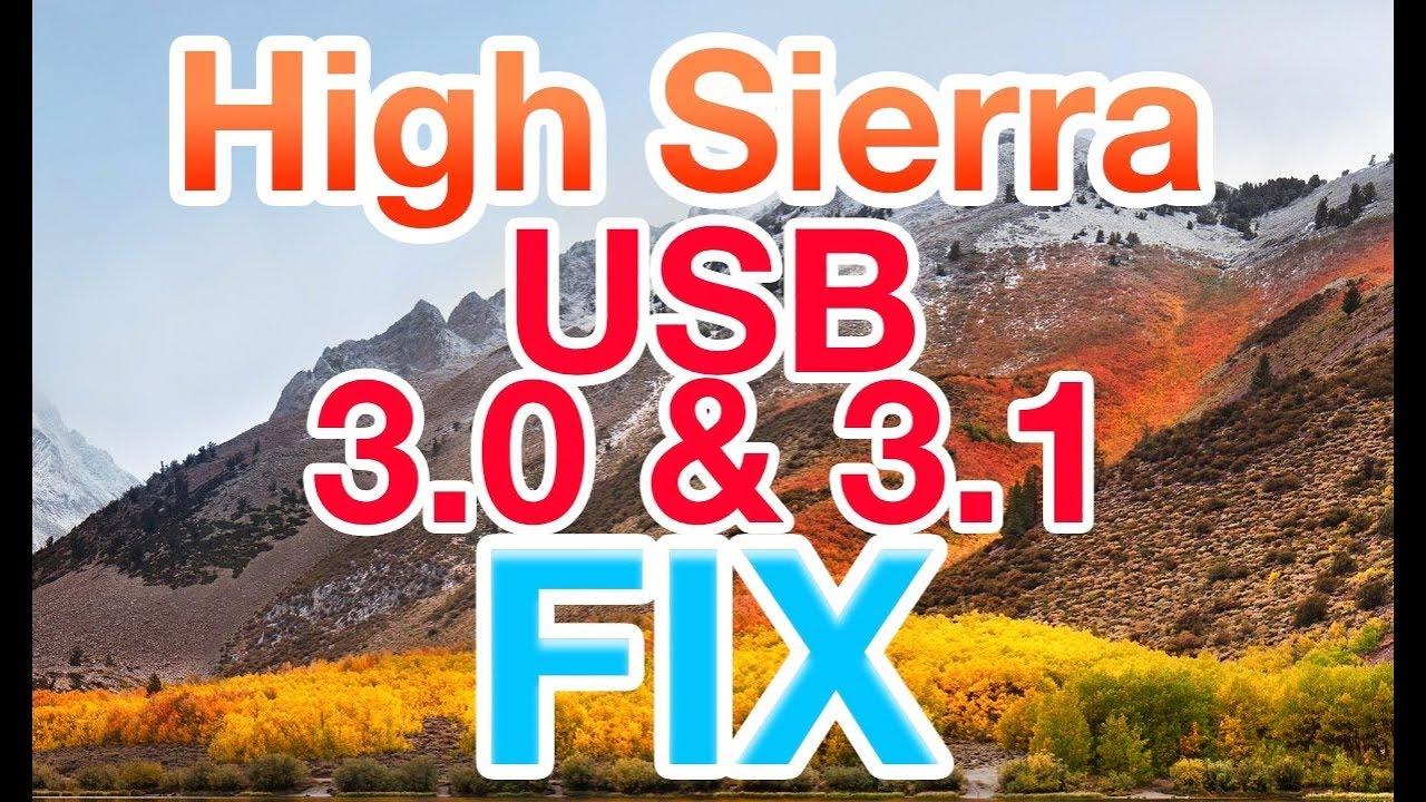 100 working high sierra usb 3 0 3 1 fix hackintosh for kaby lake rh youtube com