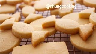 BÁNH QUY TRANG TRÍ ĐƯỜNG / SUGAR COOKIES by Nhung Cooking