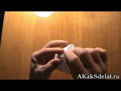 Как сделать из бумаги октаэдр