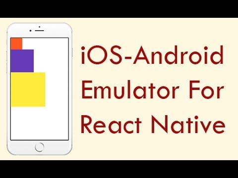 iOS Emulator to Test Run React Native Apps Code in Windows PC
