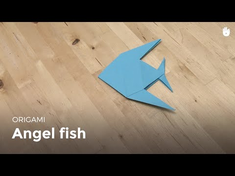 Learn How To Make Origami Easily: The Angel Fish