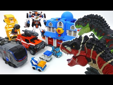 Thumbnail: Go Go Tobot Athlon, Rescue Center is Under Attack by Dinosaurs~!