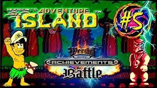 RA Battle 5 Adventure Island NES