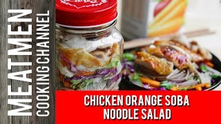 Chicken Orange Soba Noodle Salad