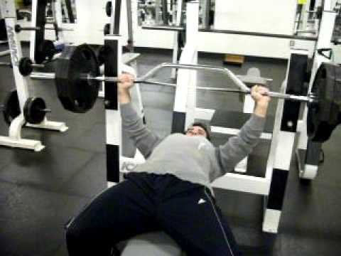 Cambered Bar Bench Press Youtube