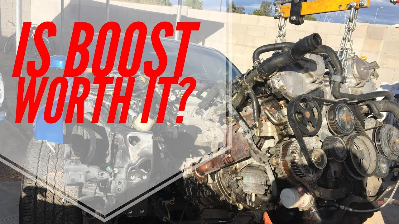 Should you boost your g35/350z???