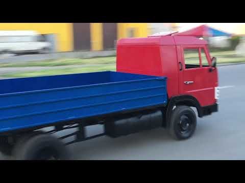 Электро грузовик Выезд