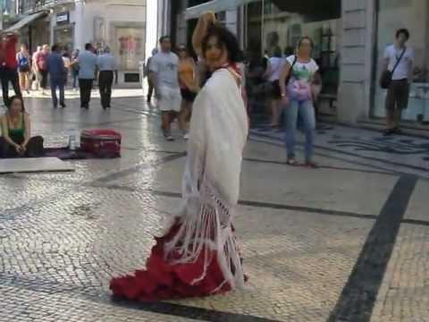 Flamenco Sevilhanas - Rua Augusta - Lisboa ___ (2/2)