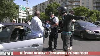 Téléphone au volant : les sanctions s'alourdissent