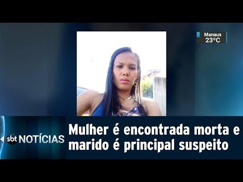 Polícia investiga morte de mulher encontrada morta na própria casa | SBT Notícias (12/07/18)