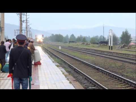 [China Railway] Local train No.6958 From Tahe for Qiqihaer in Xinlin, Daxing'anling 新林駅入線