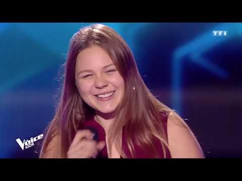 """The Voice Kids : Léna - """"Jodel-Time"""" - Oesch's Die Dritten (saison 5)"""