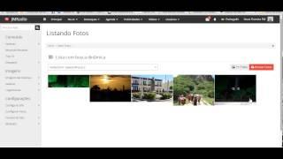 007 Atualizando Galeria de Fotos no site administrável grátis para rádios da JMultimídia