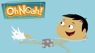 Learn Spanish For Kids. Oh Noah Game Cartoon For Childrens. Spanish Educational Video For Babies
