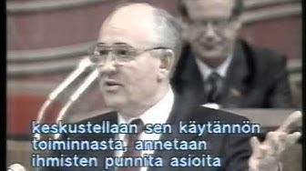 Yleisradio TV 1 Uutislähetys 19.06.1990 klo 20.30
