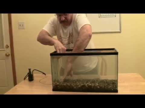 Aquarium filter series 5 8 diy under gravel aquarium for Diy gravel filter