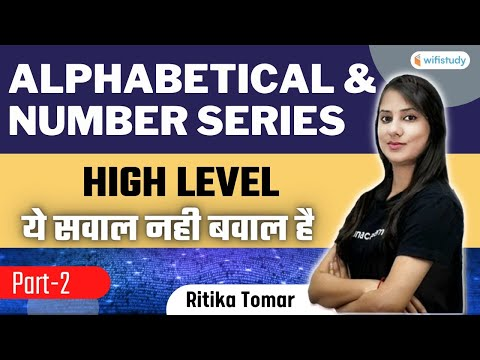 Alphabetical & Number Series   Part-2   Reasoning   All Exams 2021   wifistudy   Ritika Tomar
