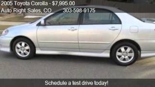 2005 Toyota Corolla S - for sale in Commerce City, CO 80022