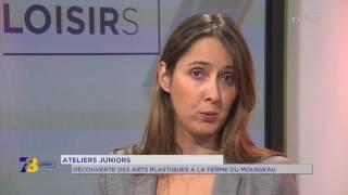 Chronique juniors – Arts plastiques à la Ferme du Mousseau à Elancourt
