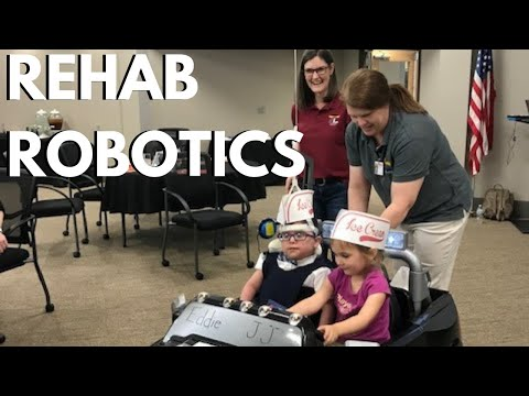 NSF robotics project helps children with hypotonia at Little Light House