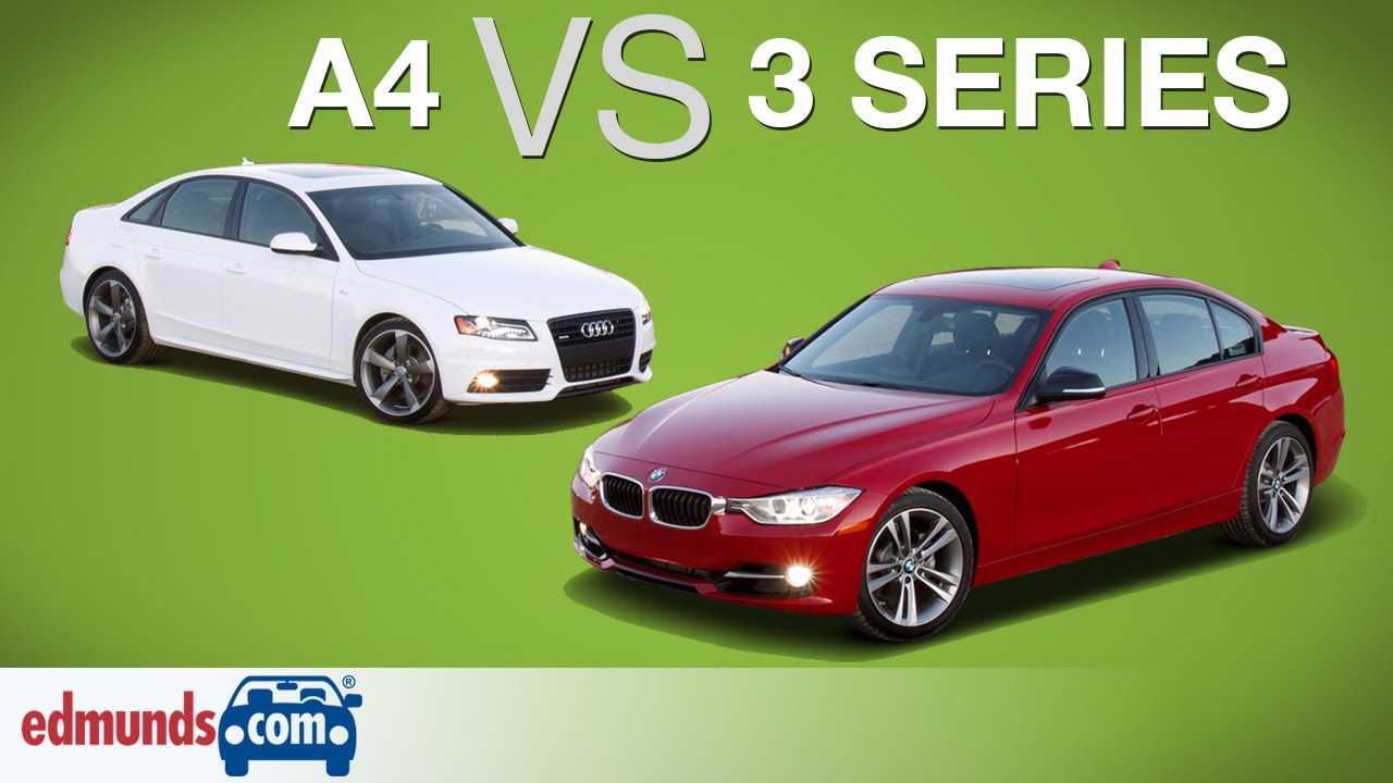 Audi A Vs BMW Series Edmunds ARated Luxury Sedans Face Off - Bmw 3 series 2006 price