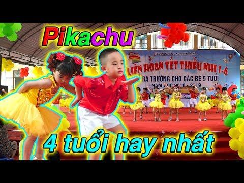 Màn nhảy Pikachu 4 tuổi hay nhất Hải Phòng