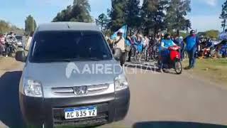 Caravana en apoyo a la intervención de Vicentin