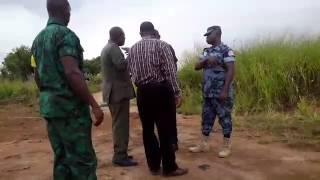Police and Forestry Commission officials tango over state land