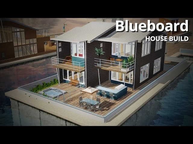 The Sims 3 House Building - Blueboard
