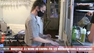 Marseille : les restaurants se sont organisés face au couvre-feu