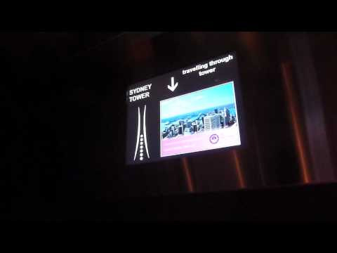 Trip Austrália #226: The Sydney Tower Eye - Elevador