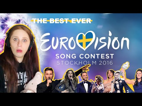 WAS 2016 THE BEST EUROVISION SONG CONTEST EVER