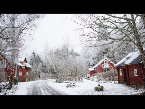 ▷ MY LITTLE VILLAGE IN THE SWEDISH COUNTRYSIDE