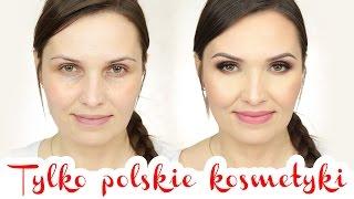 ♥ MAKIJAŻ PO POLSKU 3 | Tylko polskie kosmetyki ♥