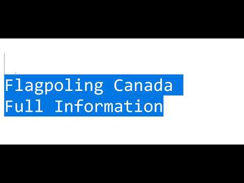 Flagpoling Canada Full Information What To Do What To Carry