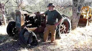 Grandpa's Tractor   1924 Mccormick Deering