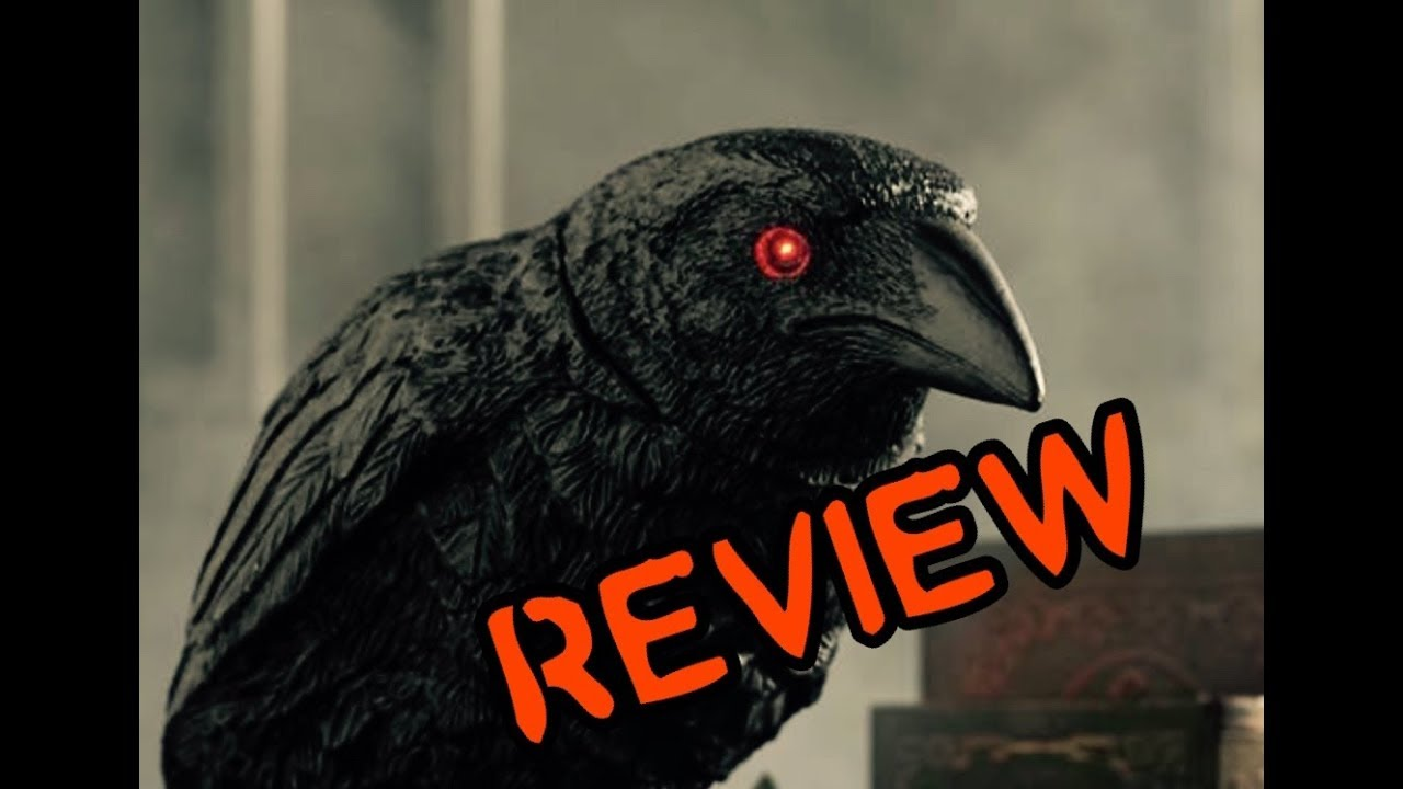 Animated Turning Head Raven Grandin Road Michaels Prop Review