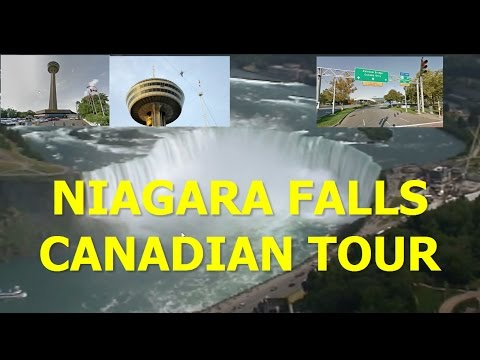 JOURNEY BEHIND THE FALLS  CANADIAN TOUR - NIAGARA FALLS RV TRIP Part 3